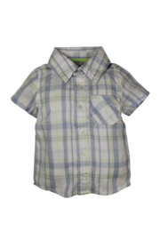 Boys Baby blouse- Dirkje- Lightblue