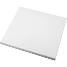 Canvas doek, afm 15x15 cm, depht 1,6 cm
