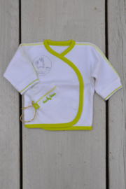 Baby Uni pre T shirt l/s-Ducky Beau-Light green