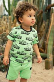 Koko Noko-Boys T-shirt ss-Faded neon green