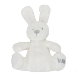Pluche Konijn Zittend-VIB-White