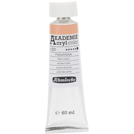 Acryl color-flesh colour (331)-opaque, extr. fade resistant, 60ml-Schmincke AKADEMIE