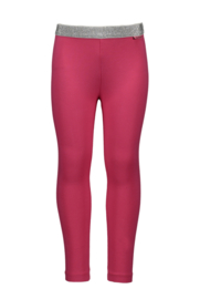 Girls Kids legging plain + elastic waist -Bampidano-Dark Pink