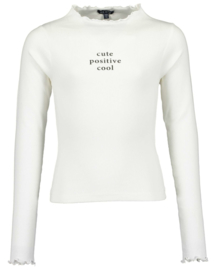 Blue Seven-Girls knitted t-shirt-Offwhite orig