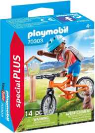 Playmobil Special Plus-Mountainbiker- 70303
