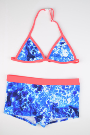 Girls Bikini Havana-Just Beach-dye blue