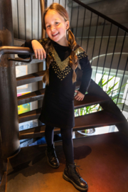 OChill-Girls Dress Zarah-Black