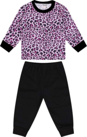Beeren-LPC-Baby Girls Pyjama Panter-Pink-Black