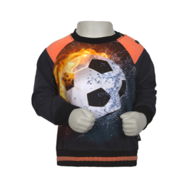 Mini Boys Sweater Sietse Jr. -Legends22-Darkblue/footbal