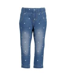 Blue Seven-Mini girls woven jeggings-Jeans Blue aop orig