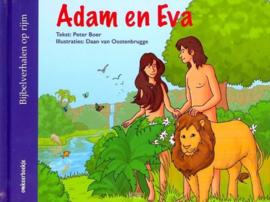 Adam en Eva/ Noah omkeerboekje- CBC- Diverse kleuren
