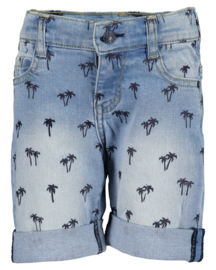 Blue Seven-Kids Boys woven jeans bermuda-jeansblue aop orig