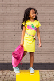 Girls Dress Raafje-OChill-Yellow