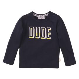 Dirkje-Baby Boys T-shirt ls -Navy