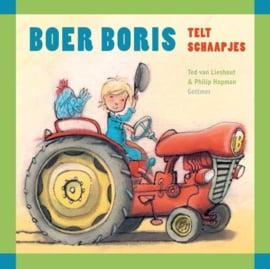 Boer Boris telt schaapjes- Ikkemikke- div.kleuren