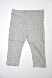Baby Girls knitted leggings-Blue Seven-Grey