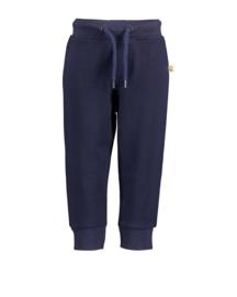 Blue Seven-Mini boys knitted sweat pants-Night Blue Orig