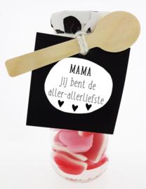 De Groot-Mama Jij bent de aller-allerliefste-Winegum hartjes-Red