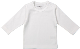 Dirkje-Unisex Basic Shirt l.m.- White