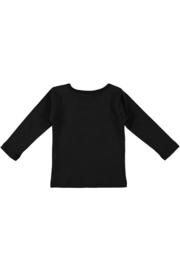 Baby Girls T-shirt l.s.plain-Bampidano-black