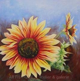 De Zonnebloemen (3d)