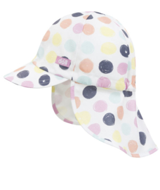Baby Girls Baseball cap dots- Ewers-white