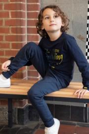 DJ Dutch Jeans-Boys Jogging trousers with zipper pockets-Navy