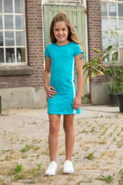 Lovestation22-Girls Dress Noa -Scuba  Blue