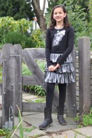 Girls Delightful Dress- LoFff- Black