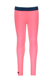 Girls Kids uni legging -B.Nosy-Festival pink