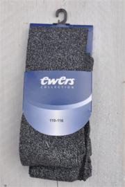 Panty- Ewers- zwart zilver