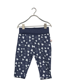 Blue Seven-Baby Girls knitted pants-Jeansblue orig