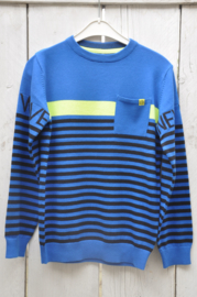 Boys knitted pullover -Blue Seven- Royal