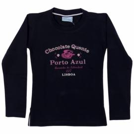 Shirt l.m. fantasie- porto Azul- Blue