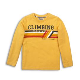 Boys T-Shirt-DJ Dutch Jeans-Ochre yellow