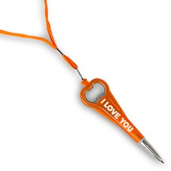 I LOVE YOU Pen Opener-Miko-Oranje
