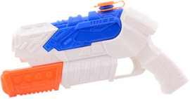 Aqua Fun  Waterpistool space watershooter +/- 27 cm-C- Wit/blauw/oranje