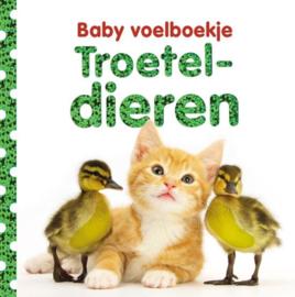 Baby voelboekje Troeteldieren-CBC-Wit