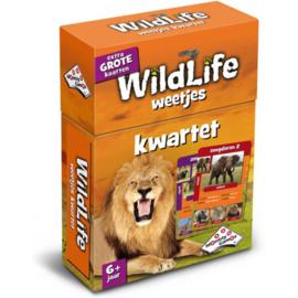 Identity Games-Kwartet Wildlife weetjes - Kaartspel-Orange