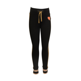 Girls Pant Vera- Lovestation22-Black