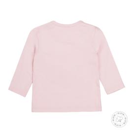 Dirkje-Baby Girls  t-shirt l.s Bio Cotton-Light pink