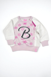 Girls Sweater IJskristal- Beebielove- Rose- 62