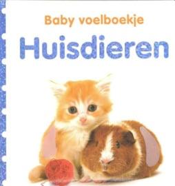 Baby voelboekje Huisdieren-CBC-Wit