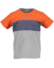 Blue Seven-Kids small Boys knitted T-shirt-Orange orig