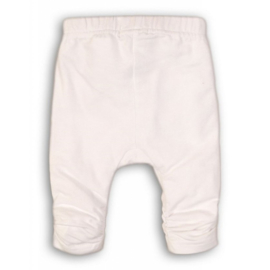Dirkje-Baby Girls legging- White