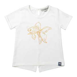Girls T-Shirt-KokoNoko- White