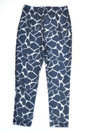 Girls Valeska legging Giraffe- Porto Azul- blue