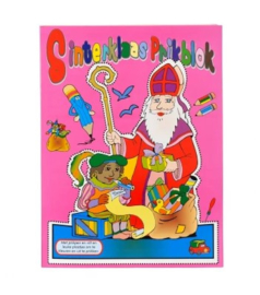 Sinterklaas Prikblok -C-Multi color