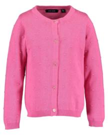 Blue Seven-Kids Girls knitted cardigan-Pink orig