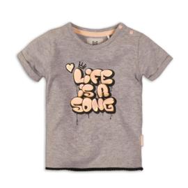 Koko Noko-Girls T-Shirt-Grey melee